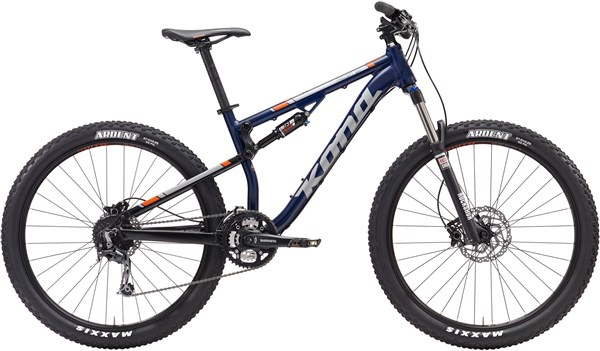 Kona Precept 120 27.5 Mountain Bike 2017 - Trail Full Suspension MTB