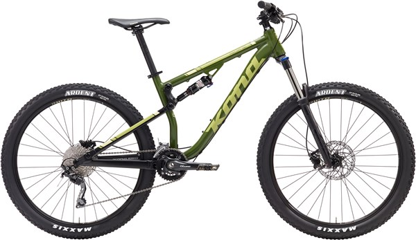 Kona Precept 130 27.5 Mountain Bike 2017 - Trail Full Suspension MTB