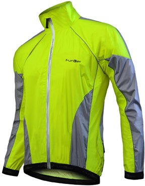 Funkier WJ-1301 Nylon Double-Stitched Lightweight Waterproof Jacket SS16