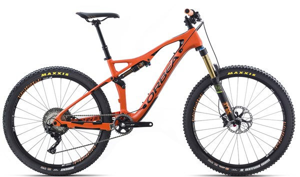 "Image of Orbea Occam AM M10 27.5"" Mountain Bike 2017 - Full Suspension MTB"