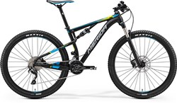 "Merida Ninety-Six 7.600 27.5"" Mountain Bike 2017 - Full Suspension MTB"