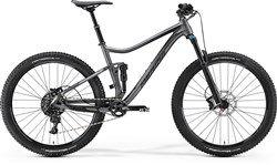 Merida One Twenty 7.800 650b Mountain Bike 2017 - Trail Full Suspension MTB