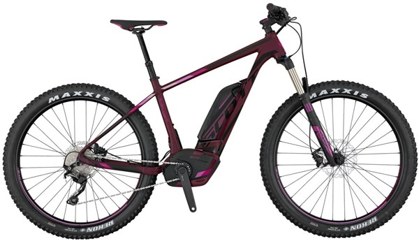 Image of Scott E-Contessa Scale 720 Plus 27.5 Womens 2017 - Electric Bike