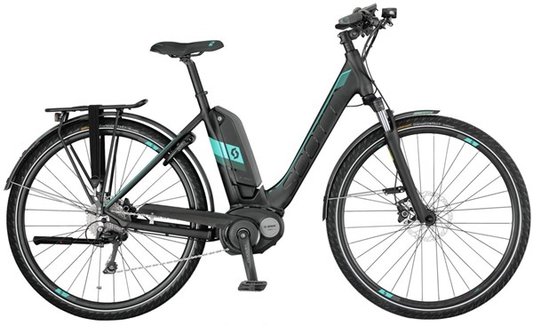Image of Scott E-Sub Tour Unisex 2017 - Electric Bike