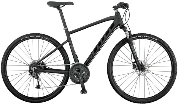 Image of Scott Sub Cross 30 2017 - Hybrid Sports Bike