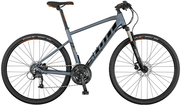 Scott Sub Cross 40 2017 - Hybrid Sports Bike