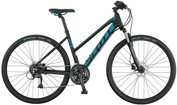 Image of Scott Sub Cross 40 Womens 2017 - Hybrid Sports Bike