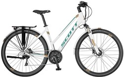 Scott Sub Sport 10 Womens 2017 - Hybrid Classic Bike
