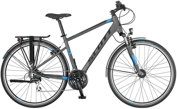 Image of Scott Sub Sport 30 2017 - Hybrid Classic Bike