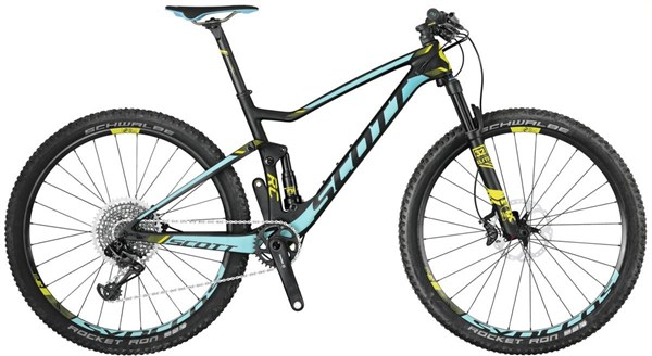 Image of Scott Contessa Spark RC 700 27.5 Womens Mountain Bike 2017 - Full Suspension MTB