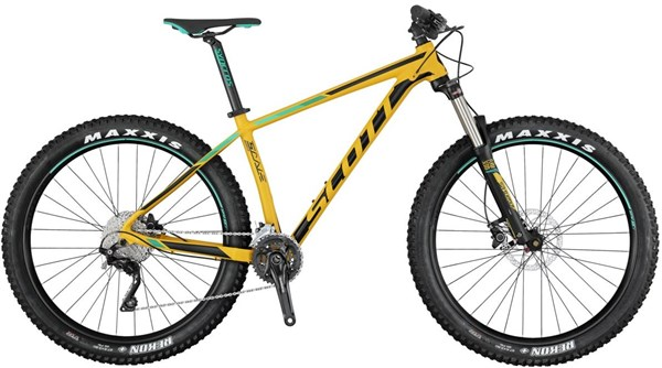 Image of Scott Scale 730 Plus 27.5 Mountain Bike 2017 - Hardtail MTB