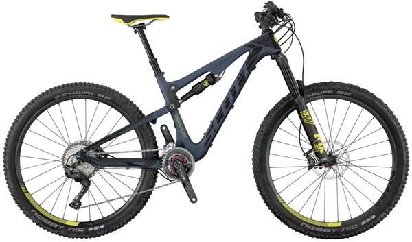 Scott Contessa Genius 700 27.5 Womens Mountain Bike 2017 - Enduro Full Suspension MTB