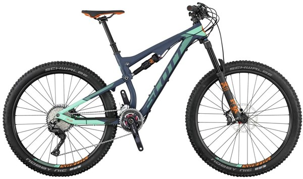 Image of Scott Contessa Genius 710 27.5 Womens Mountain Bike 2017 - Full Suspension MTB