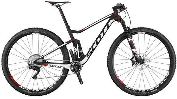 Scott Spark RC 700 Pro 27.5 Mountain Bike 2017 - XC Full Suspension MTB