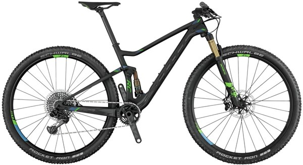 Image of Scott Spark RC 700 Ultimate 27.5 Mountain Bike 2017 - Full Suspension MTB