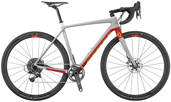 Image of Scott Addict Gravel 10 Disc 2017 - Road Bike