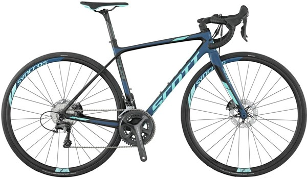 Image of Scott Contessa Solace 15 Disc Womens 2017 - Road Bike