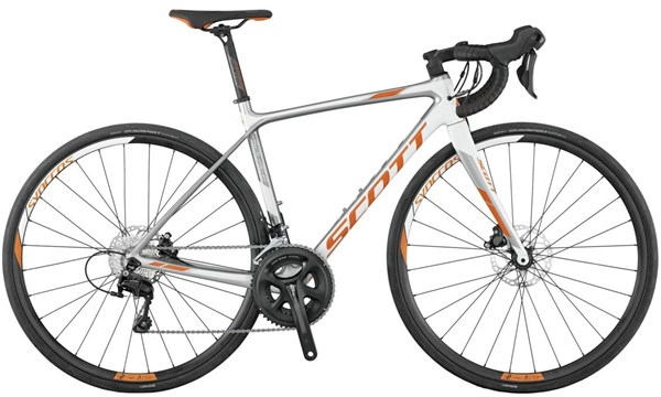 Image of Scott Contessa Solace 25 Disc Womens 2017 - Road Bike