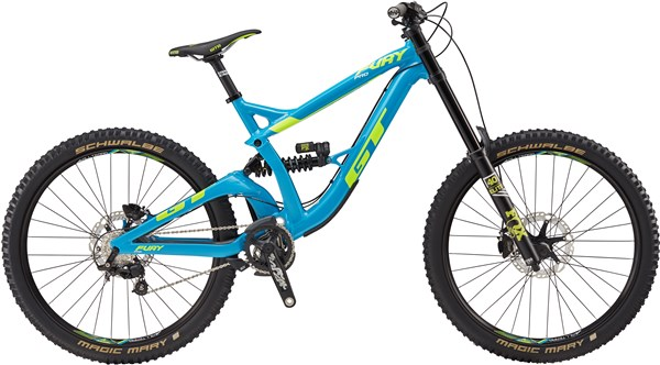"Image of GT Fury Pro 27.5"" Mountain Bike 2017 - Full Suspension MTB"