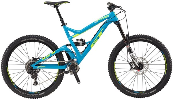 "Image of GT Sanction Pro 27.5"" Mountain Bike 2017 - Full Suspension MTB"