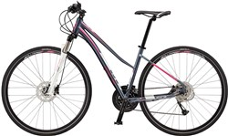 GT Transeo 2.0 Step Thru Womens 2017 - Hybrid Sports Bike