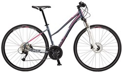 Product image for GT Transeo 2.0 Step Thru Womens 2017 - Hybrid Sports Bike