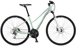 Product image for GT Transeo 3.0 Step Thru Womens 2017 - Hybrid Sports Bike