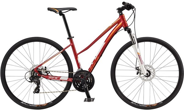 GT Transeo 5.0 Step Thru Womens 2017 - Hybrid Sports Bike