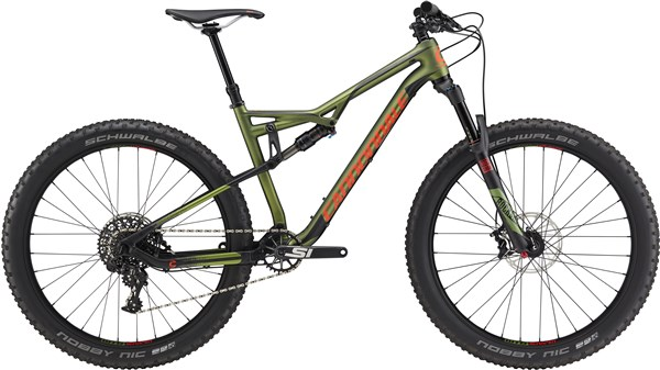 "Image of Cannondale Bad Habit Carbon 2 27.5""  Mountain Bike 2017 - Full Suspension MTB"
