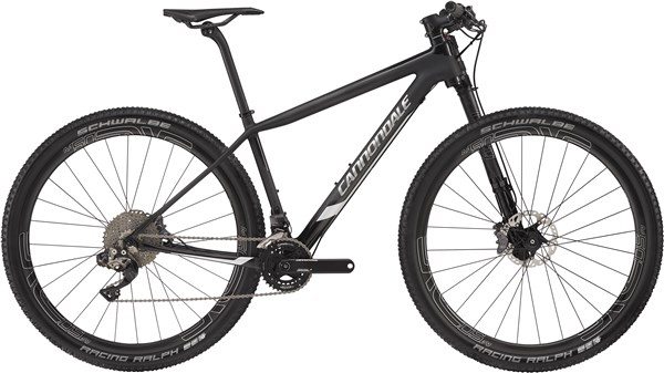 Image of Cannondale F-Si Black Inc. 29er  Mountain Bike 2017 - Hardtail MTB