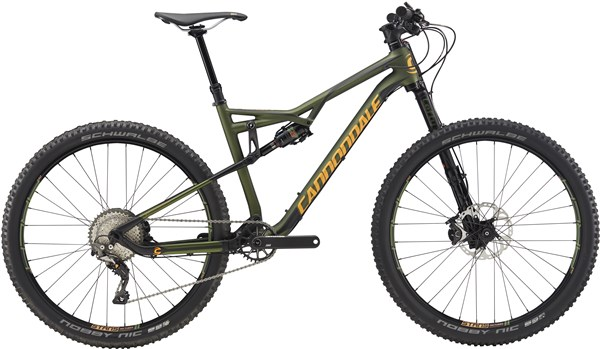 "Image of Cannondale Habit Carbon 2 27.5""  Mountain Bike 2017 - Full Suspension MTB"
