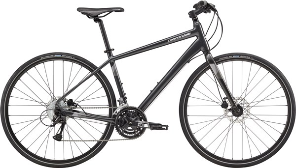 Image of Cannondale Quick 5 Disc 2017 - Hybrid Sports Bike