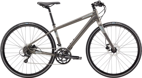 Image of Cannondale Quick 3 Disc Womens 2017 - Hybrid Sports Bike