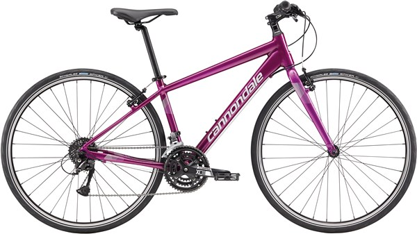 Image of Cannondale Quick 6 Womens 2017 - Hybrid Sports Bike