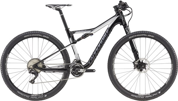 Image of Cannondale Scalpel-Si Carbon 4 Mountain Bike 2017 - Full Suspension MTB