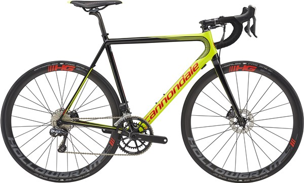 Image of Cannondale SuperSix EVO Hi-MOD Disc Ultegra Di2 2017 - Road Bike