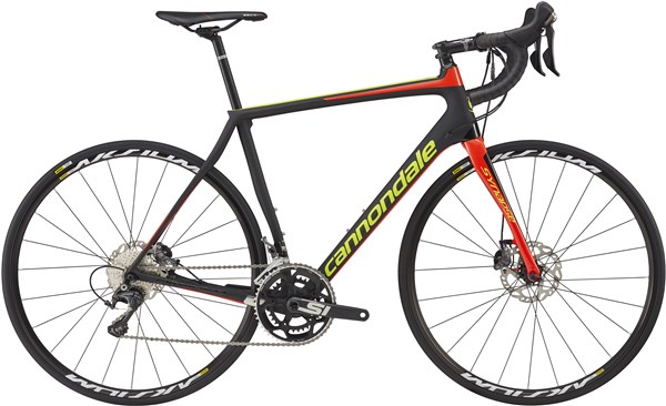 Image of Cannondale Synapse Carbon Disc Ultegra 2017 - Road Bike