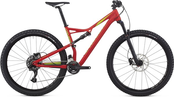 Specialized Camber Comp 29er Mountain Bike 2017 - Trail Full Suspension MTB