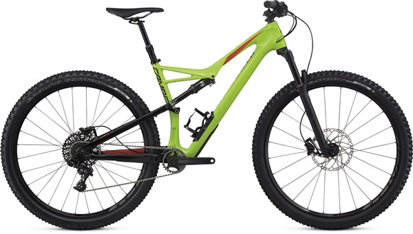 Image of Specialized Camber Comp Carbon 29er Mountain Bike 2017 - Full Suspension MTB