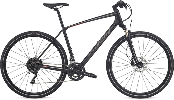 Image of Specialized Crosstrail Elite Carbon  700c 2017 - Hybrid Sports Bike