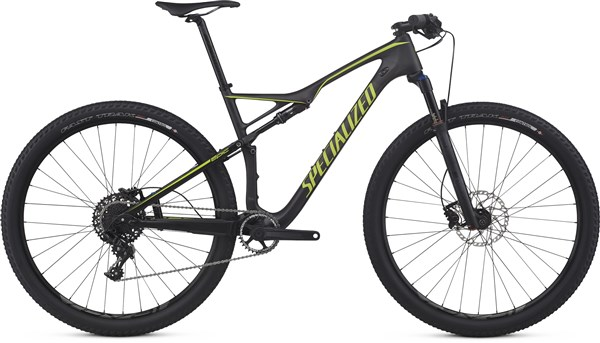 Specialized Epic FSR Comp Carbon World Cup 29er Mountain Bike 2017 - Full Suspension MTB