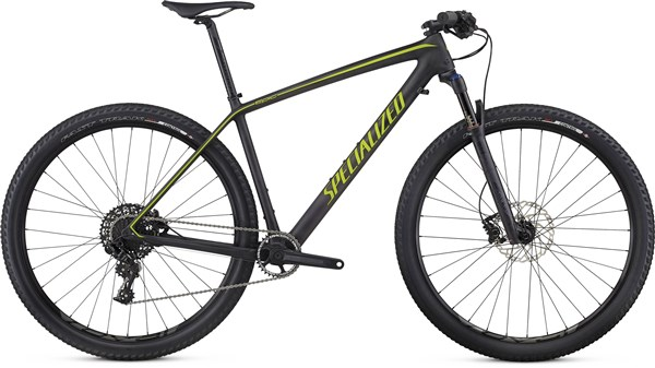 Image of Specialized Epic Hardtail Comp Carbon World Cup 29er Mountain Bike 2017 - Hardtail MTB