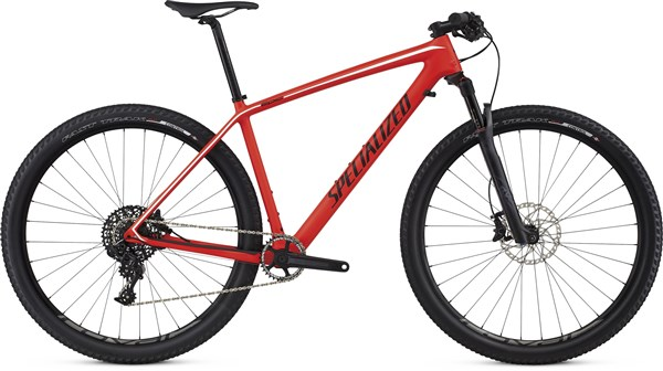 Image of Specialized Epic Hardtail Expert Carbon World Cup 29er Mountain Bike 2017 - Hardtail MTB