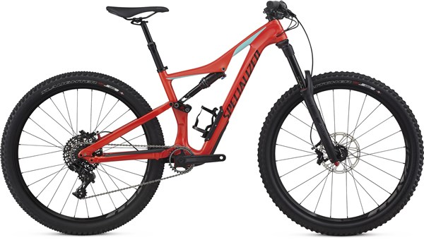 "Image of Specialized Rhyme Comp Carbon Womens 27.5""  Mountain Bike 2017 - Full Suspension MTB"