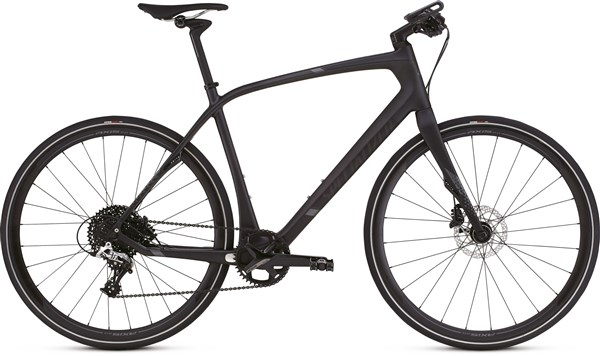 Image of Specialized Sirrus Expert Carbon X1 700c  2017 - Hybrid Sports Bike