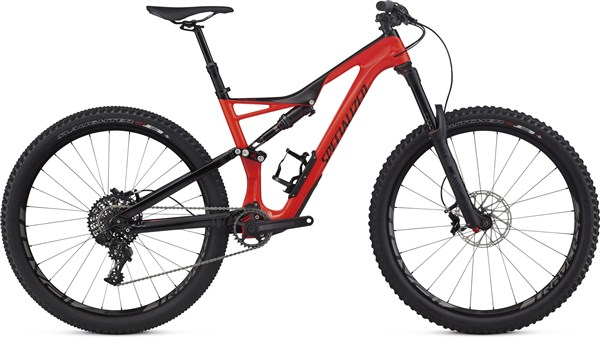 "Image of Specialized Stumpjumper FSR Expert Carbon 27.5"" Mountain Bike 2017 - Full Suspension MTB"