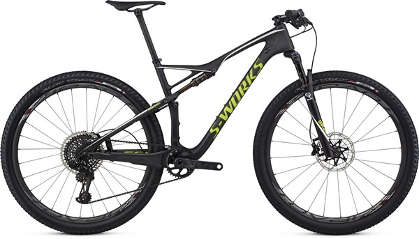 Image of Specialized S-Works Epic FSR World Cup 29er Mountain Bike 2017 - Full Suspension MTB
