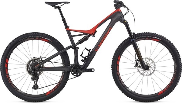 Image of Specialized S-Works Stumpjumper FSR 29er  Mountain Bike 2017 - Full Suspension MTB