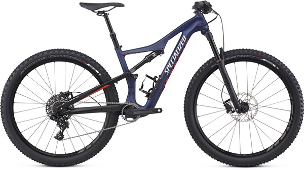 "Image of Specialized Womens Camber Comp Carbon 27.5"" Mountain Bike 2017 - Full Suspension MTB"