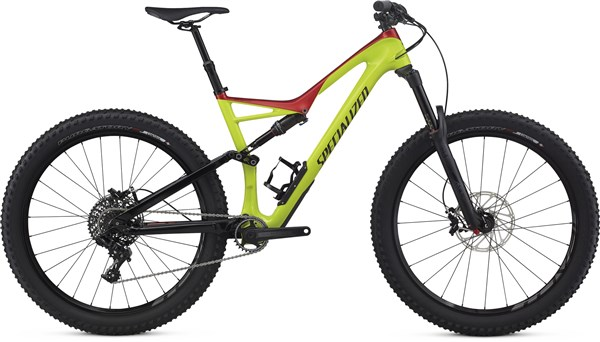"Image of Specialized Stumpjumper FSR Comp Carbon 6Fattie 27.5"" Mountain Bike 2017 - Full Suspension MTB"